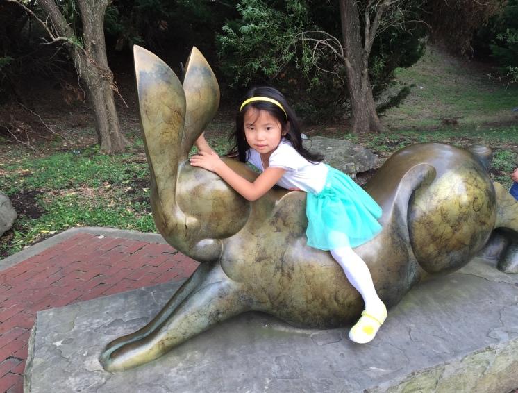 Bunny riding