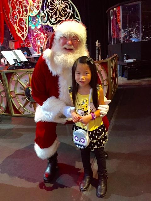 Santa at the Circus