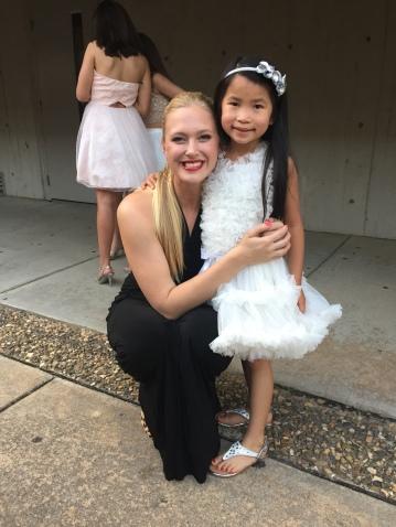 Nat & one of her dance teachers